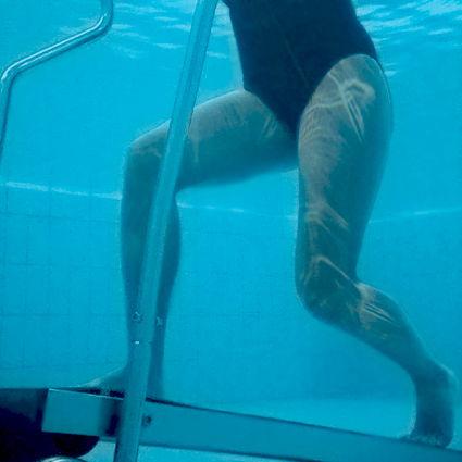 tapis roulant in acqua