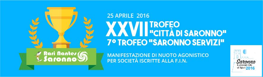 Xxv Aprile Xxvii Trofeo Citta Di Saronno E 7 Trofeo