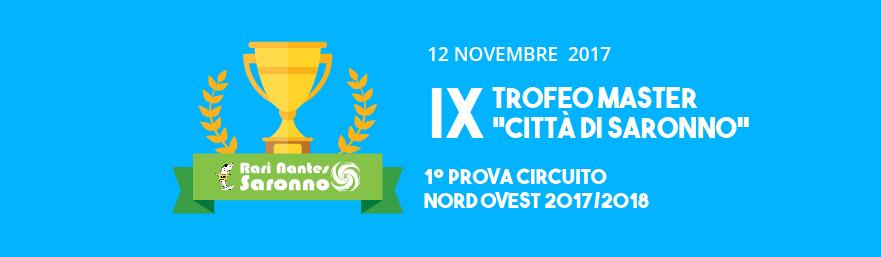 9 Trofeo Master Citt Di Saronno 12 Novembre 2017
