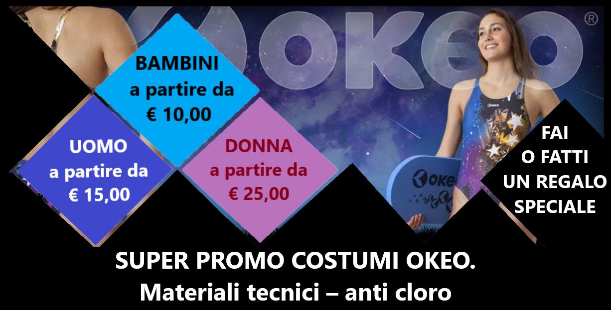 959a396fc9955a SWIMMING COLLECTION -SUPER PROMO COSTUMI OKEO! - Piscina di Saronno